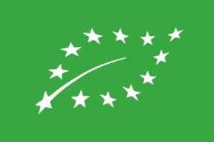 Logo européen de l'Agriculture Biologique (eurofeuille)
